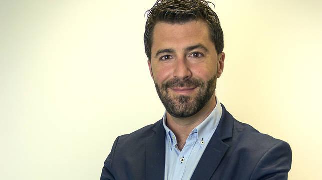 Eduardo Luquin, nuevo presidente de AJE Navarra.