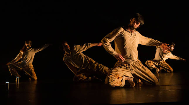 Escena de 'Nikola', nueva producción de Carmen Larraz desarrollada en el seno de la Red Atalak.