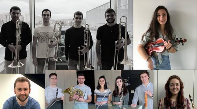 Foto de los intérpretes del segundo concierto del ciclo 'Jóvenes Intérpretes'.