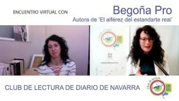 Club de lectura Diario de Navarra: Begoña Pro
