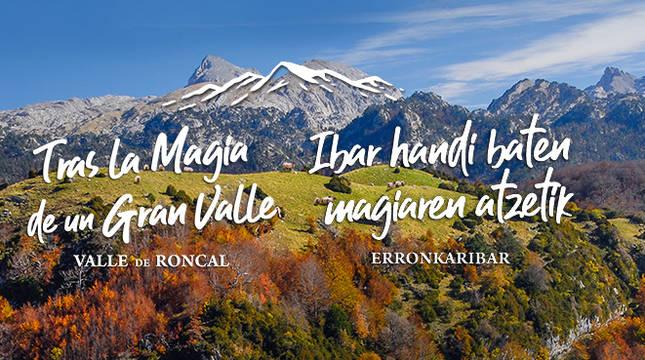 Campaña de turismo del valle de Roncal.