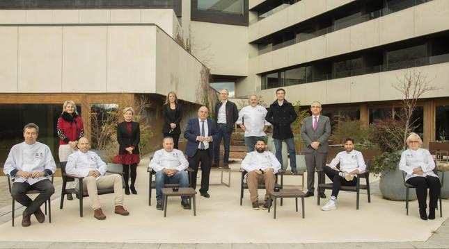 Presentación oficial de los nuevos miembros de la Asociación de Restaurantes del Reyno.