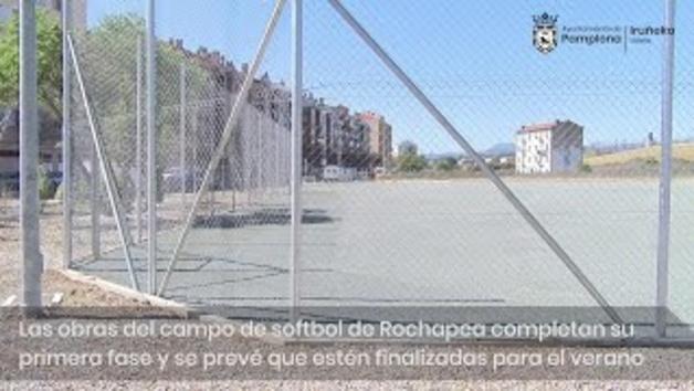Nuevo campo de softbol en la Rochapea