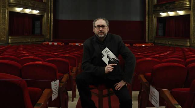 Foto del dramaturgo pamplonés Víctor Javier Iriarte Ruiz.