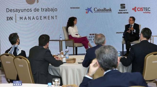 Antonio Cataán en los Desayunos DN Management