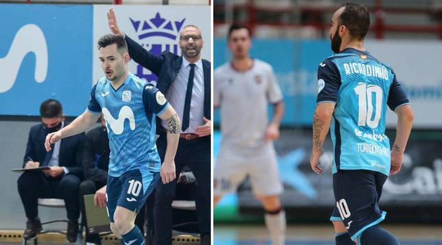 PRESENTE. Dani Saldise defiende el 10 de Inter en la actualidad. PASADO.