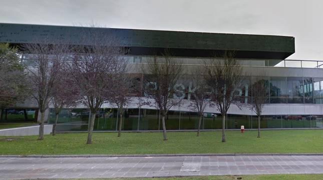 Sede de Euskaltel en Derio.