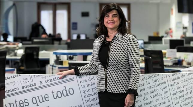 Paloma de Yarza, nueva presidenta de Heraldo de Aragón.