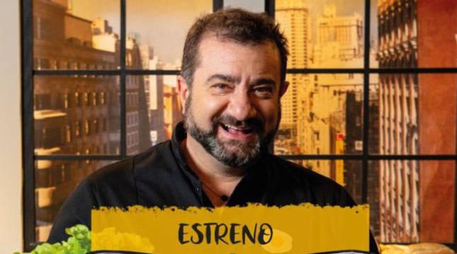 Sergio Fernández estrena programa en 'Escuela Canal Cocina' para enseñar a ser