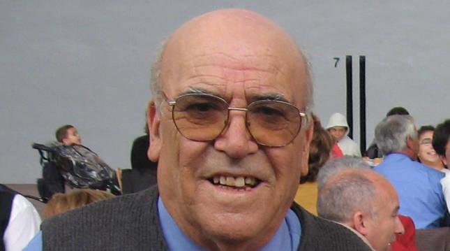 Foto de José Herrera, ex alcalde de Alsasua.