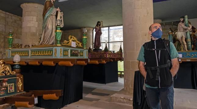 Fotos de la muestra de los pasos de Semana Santa del Santo Sepulcro