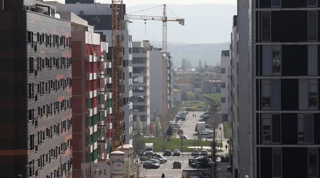 Los primeros habitantes del barrio de Lezkairu llegaron en diciembre de 2012, hace menos de 9 años.