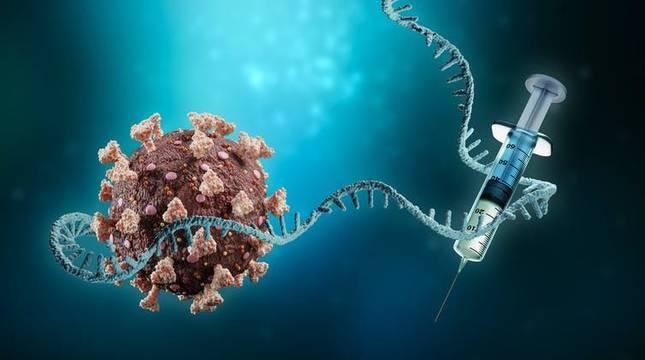 Por qué las vacunas de ARN pueden pararle los pies a los virus