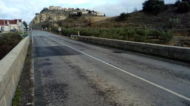 La próxima semana se reparará el puente de Lerín en la carretera NA-122