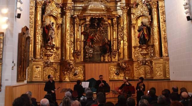 La capilla del Museo de Navarra es el escenario elegido para el ciclo.