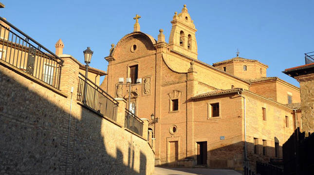 Una imagen de la fachada del convento de Nuestra Señora del Carmen de Villafranca.