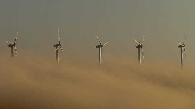Los parques eólicos en la Zona Media siguen creciendo.