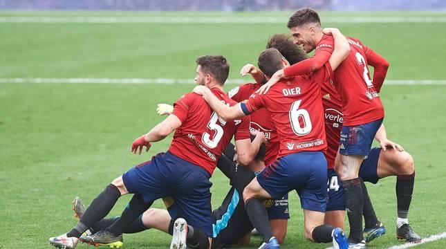 Osasuna se impuso en su visita a La Cerámica por 1-2 y puso fin a la racha del Villarreal