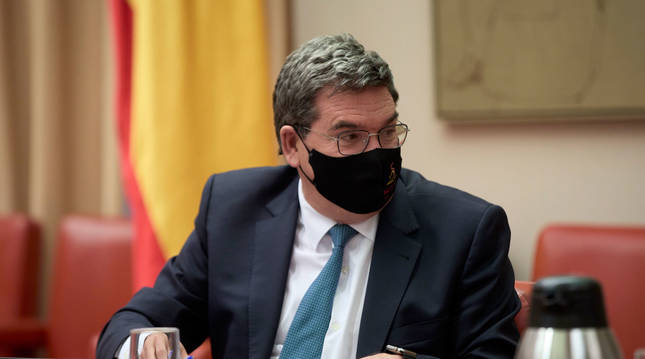 Foto del ministro de Inclusión, Seguridad Social y Migraciones, José Luis Escrivá.