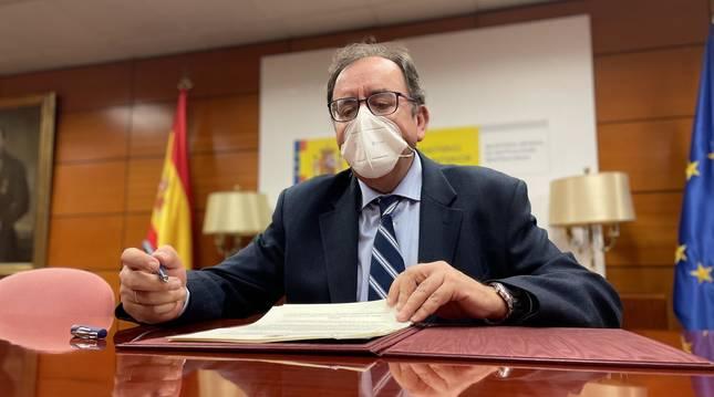 Ángel Luis Ortiz, secretario general de Instituciones Penitenciarias del Ministerio de Justicia