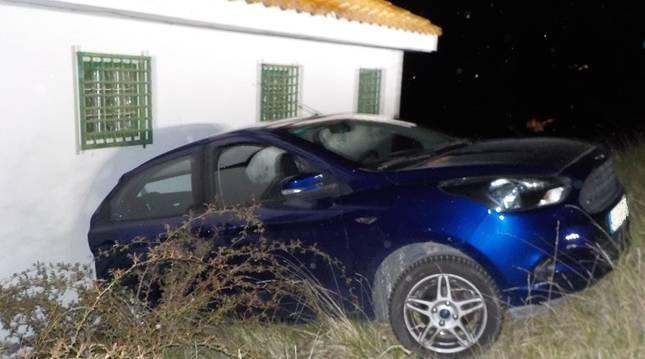 Asi quedó el vehículo accidentado.