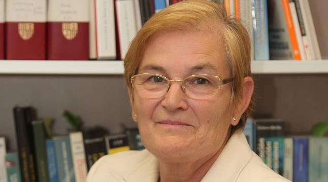 La profesora San Martín impulsó desde sus inicios la Facultad de Económicas