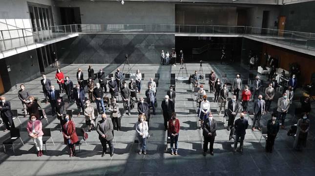 Fotos del acto de conmemoración de su 50 aniversario de Aspace