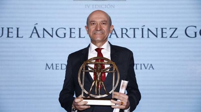 Miguel Ángel Martínez-González, catedrático de la UN, Premio Nacional de Medicina Siglo XXI