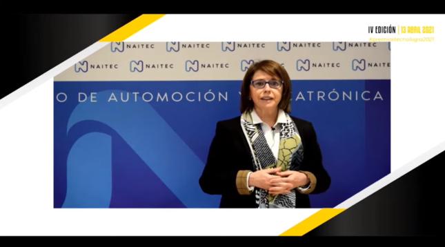 El premio fue recogido de forma virtual por la directora general de NAITEC, Estibalitz Erauzquin