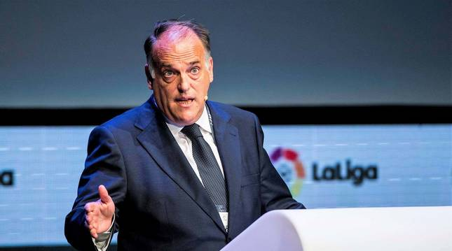 Foto de Javier Tebas, presidente de LaLiga.
