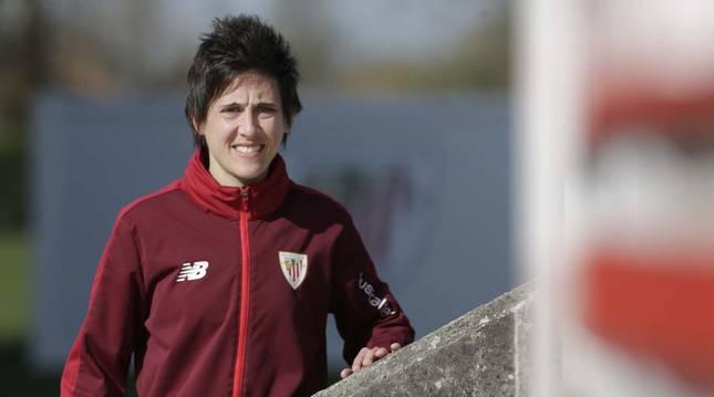 Foto de la jugadora del Athletic Club Erika Vázquez.