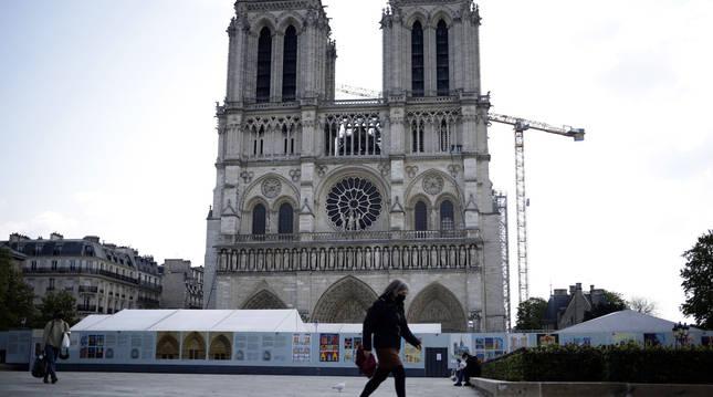 La reconstrucción de Notre Dame podría estar finalizada cinco años después de su incendio.