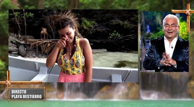 Lola, primera expulsada, fue trasladada a Playa Destierro.