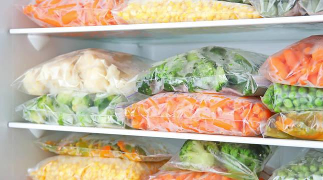 La verdura congelada forma parte de la cesta de la compra de muchos hogares.