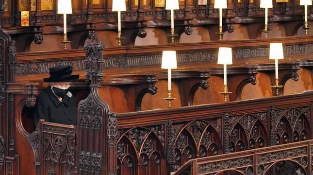 Fotos del funeral del duque de Edimburgo