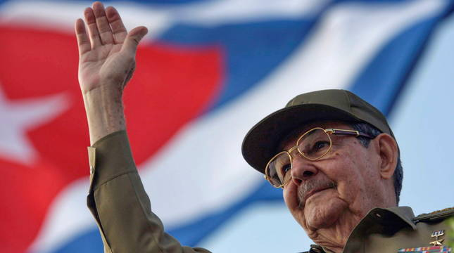 Fotografía de archivo de Raúl Castro.