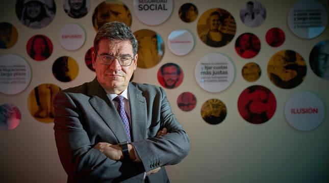 El ministro de Inclusión, Seguridad Social y Migración,José Luis Escrivá.