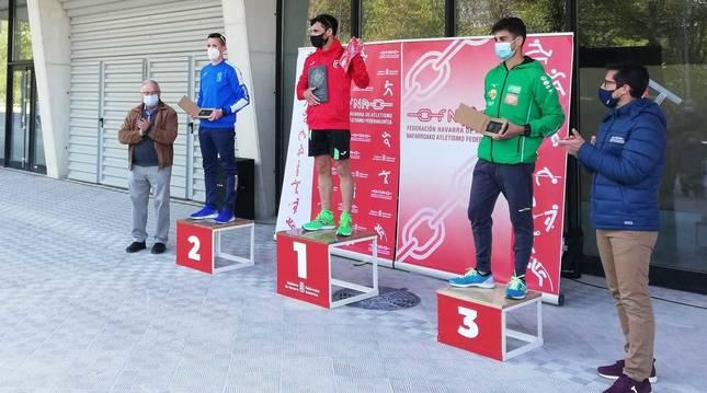 García Bragado gana los 10 km marcha del II Gran Premio de Marcha Ciudadela de Pamplona