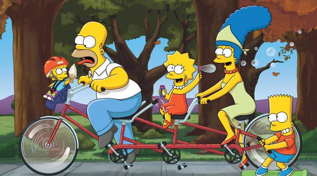 Los Simpsons han superado los 700 capítulos emitidos.