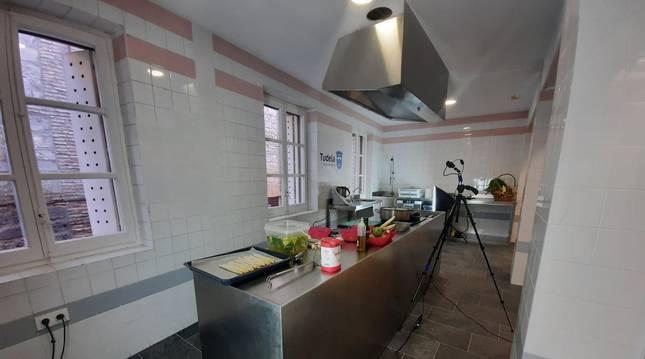Nueva cocina del mercado de abastos de Tudela