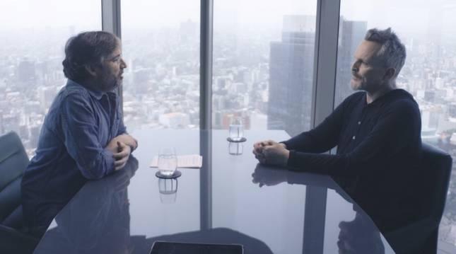 Un momento de la entrevista de Jordi Évole a Miguel Bosé