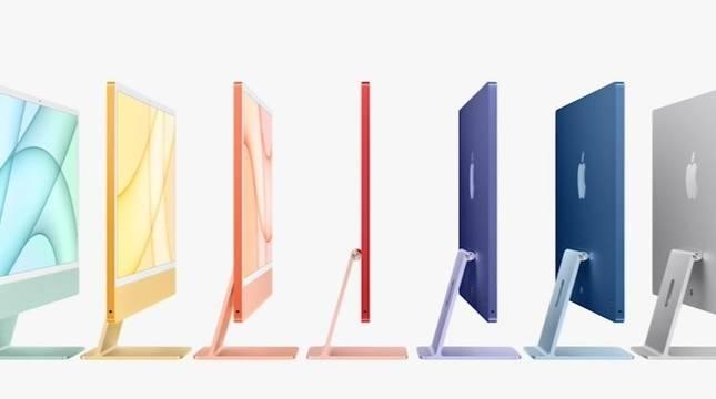 El nuevo ordenador de la marca está disponible en siete colores.