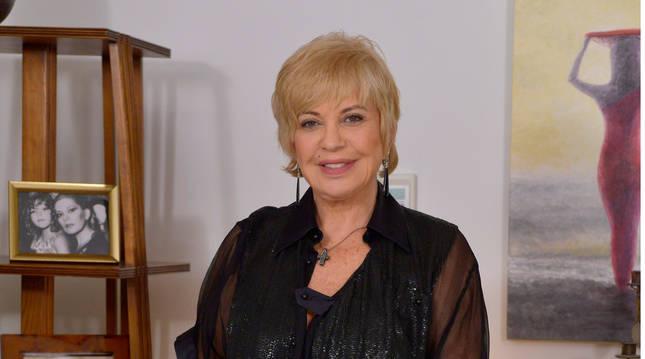 La actriz y vedete Bárbara Rey se encuentra ingresada por coronavirus