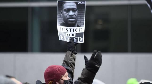 Protestas pidiendo justicia para George Floyd
