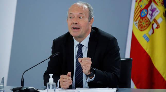 Foto de Juan Carlos Campo, ministro de Justicia.