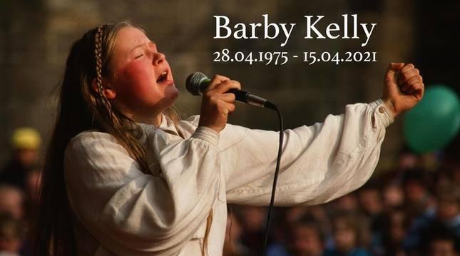 Barby Kelly, en la imagen difundida por su hermano John Kelly en redes sociales.