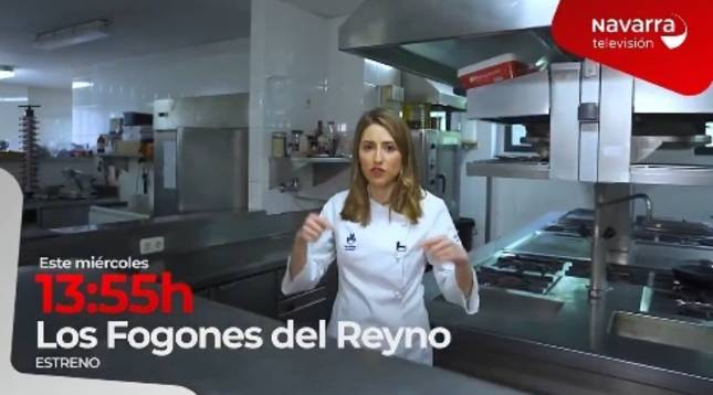 Navarra TV estrena este miércoles 'Los fogones del Reyno'