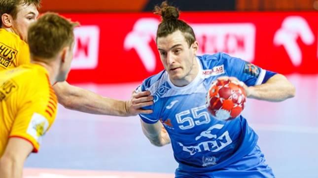Niko Mindegia, en la fase final de la Liga Europea