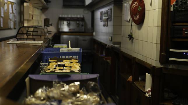 Interior del comedor social París 365.