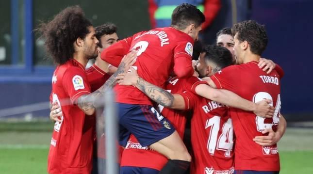 Fotos del partido Osasuna-Valencia